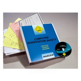 Computer Workstation Safety DVD Program - in English or Spanish