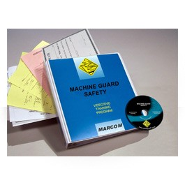 Machine Guard Safety DVD Program - in English or Spanish