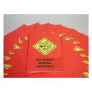 DOT HAZMAT Safety Training Employee Booklet - in English or Spanish (package of 15)
