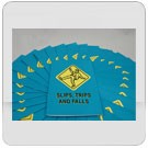 Slips, Trips & Falls Employee Booklet - in English or Spanish (package of 15)