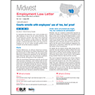Midwest Employment Law Letter