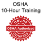 OSHA-Authorized 10-Hour Online Training