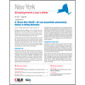 New York Employment Law Letter